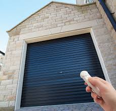 gliderol single skin garage roller door electric opening