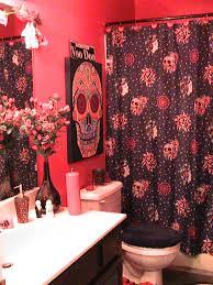 Halloween Bathroom Accessories Oh My God I Love It Sugar Skull Love Pinterest Skull Bathroom