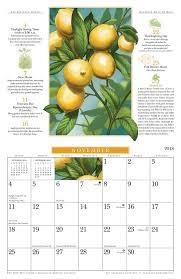 farmers almanac gardening calendar. Exellent Calendar The 2018 Old Farmeru0027s Almanac Gardening Calendar Inside Farmers