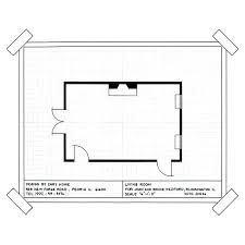 How To Draw A Room Layout On Graph Paper For Floor Plans