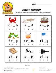 Vowel sounds worksheets pack for middle sounds practice. Vowel Sounds Phonics Worksheet