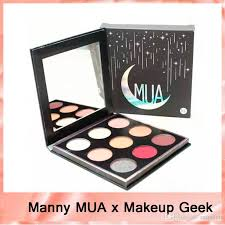 new manny mua x makeup geek eyeshadow palette le bnib eyeshadow powder manny eyeshadow kit mua eye shadow palette dhl free 2 canada 2019 from szqueen
