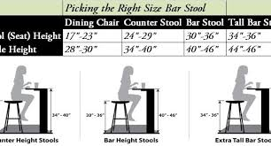 Romantic How Tall Are Bar Stools Standard Counter Height Stool Restaurant  Tables ...
