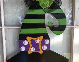 halloween front door decorationsHalloween door decor  Etsy