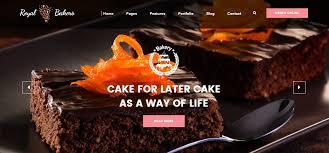 Bakery Websites Catchway Indias Largest Custom Website