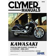amazon com clymer kawasaki vulcan 900 classic classic lt custom amazon com clymer kawasaki vulcan 900 classic classic lt custom 2006 2013 53036 manufacturer automotive