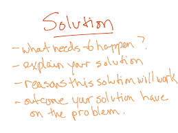 essay structure problem solution introduction