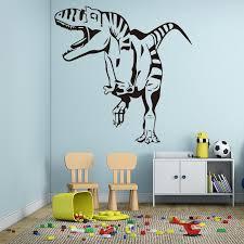 kids room playroom decor wallpaper dinosaur wall stickers waterproof background wall decal wall decor stickers wall decor stickers for bedroom from