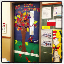 classroom door decorations for fall. My The Kids Love That I Cut Out Their Pics To Autumn Classroom Door Decorations For Fall C