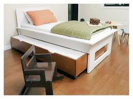 modern twin bed. Modern Twin Bed With Trundle And Drawers