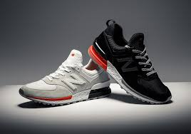 new balance 574. the all-new new balance 574 sport made its debut last week when it released in three different colorways as part of a collaboration with ronnie fieg and