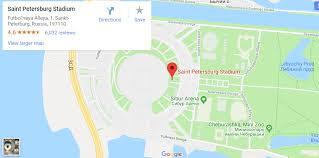Krestovsky Stadium Krestovsky Stadium Seating Chart