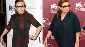 carrie fisher weight loss. Unique Fisher U0027Star Warsu0027 Star Carrie Fisher Shows Off 35Pound Weight Loss  ABC News In R