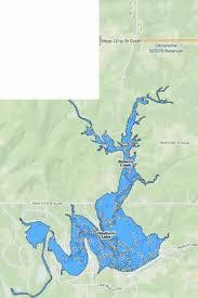 Heyburn Lake Fishing Map Us_ok_heyburn Nautical Charts App