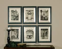 furniture graceful framed wall art sets 3 designs uttermost paris scene with 2017 prints