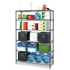 alera wire shelving complete unit with caster black anthracite alera wire shelving