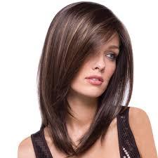 Amazoncom Women Bob Wigs Medium Straight Wine Gold Hair Layered