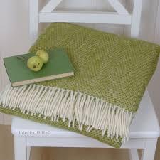 Cream Colored Throw Blanket
