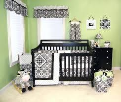 black crib bedding set black white black white pink crib bedding sets