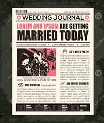 Wedding Newspaper Templates 7 Word Pdf Psd Indesign Format