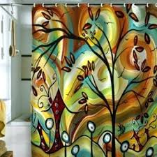 fall color shower curtains deny designs inc fall colors fabric shower curtain home ideas petone nz
