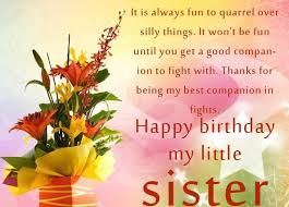 Quotes For Sister Birthday