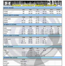 Under Armor Size Chart Under Armour Pants Tall Sizes