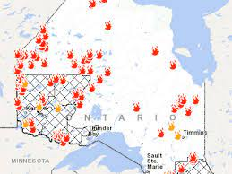 Ontario Fire Map: Here's Where Canada ...