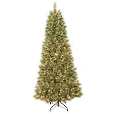 Donner & Blitzen Incorporated 7.5' Westchester Slim Cashmere Pine with 600  Clear Lights