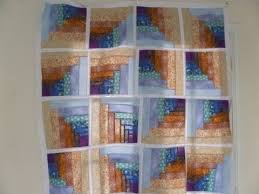 how to make a quilt log cabin tunnels quilt pattern you