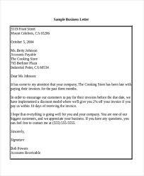 Salutation For A Business Letter Sample Business Letter Salutation 5