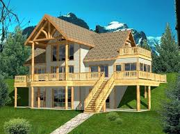 rustic lake house plans lake house design with walkout basement post