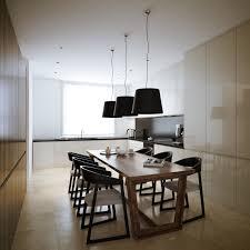 dining table interior design kitchen:   white walnut dining room kitchen area