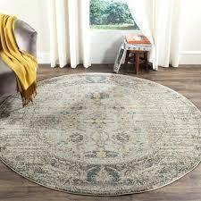 6 foot round rug grey multi 6 foot round rug 6 7 x 6 7 round 6 foot round rug