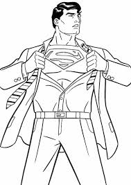 Superman in space coloring pages can be useful for teachers and it's easy, just download our coloring books or drawings, print it and have fun. Free Easy To Print Superman Coloring Pages Tulamama