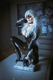black cat marvel cosplay. Modren Cat Image 0 And Black Cat Marvel Cosplay