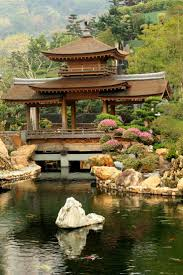Japanese Garden by Archibald Marmaduke