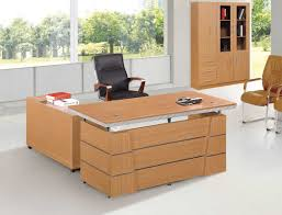wooden l shaped office desk. Elegant L Shaped Office Desk For Your Home Design: Modern With Brown Wooden E
