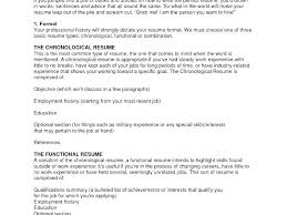 Functional Resume Builder Resume Builder For No Work Experience 35