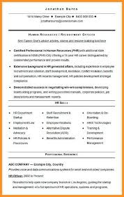 9 10 Human Resource Manager Resume Sample Wear2014 Com