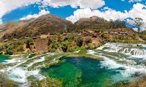 Resultado de imagen para fotos de las cascadas de huancaya y vilcas en yauyos