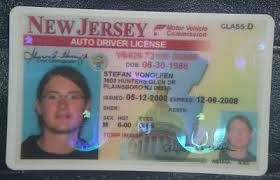 Jerse Jerseys New Drivers License