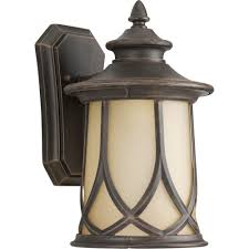 progress lighting resort collection 1 light 8 5 inch aged copper outdoor wall lantern p5913 122di the home depot