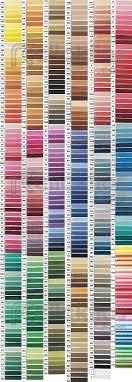 Dmc Floss Chart Dmc Color Chart Dmc Cross Stitch Thread Cross Stitch