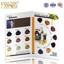 16 Color Chart 16 Colors Hair Shade Chart Global Sources