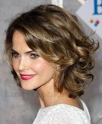 short hairstyles for round faces wavy hair