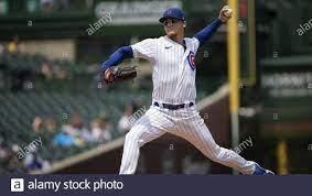 Chicago Cubs Pitcher Justin Steele ...