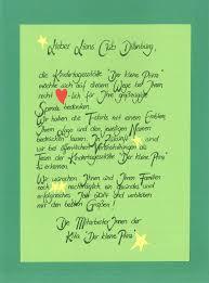 Der Kleine Prinz Sagt Danke Lions Club Dillenburg Schloßberg