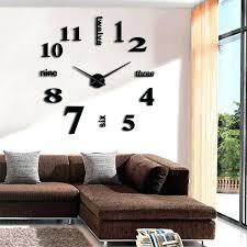 huge wall clock personality large wall clock huge mirror clock wall watch surface wall sticker clocks huge wall clock