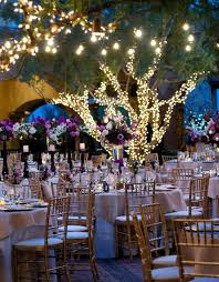 wedding table lighting. Outdoor Wedding Table Setting With Lights Lighting